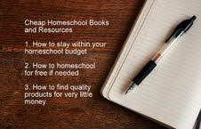 cheap homeschool