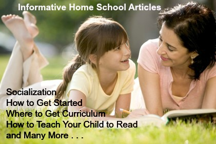 home school articles
