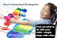 homeschool curriculum kindergarten