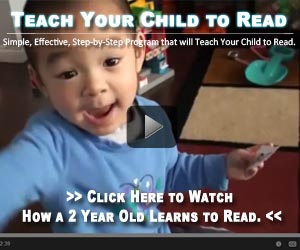 teach toddlers reading