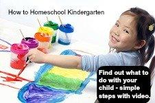 homeschool curriculum kindergarten