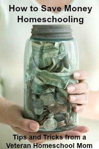 save money homeschooling