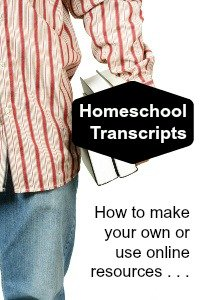 homeschool transcripts